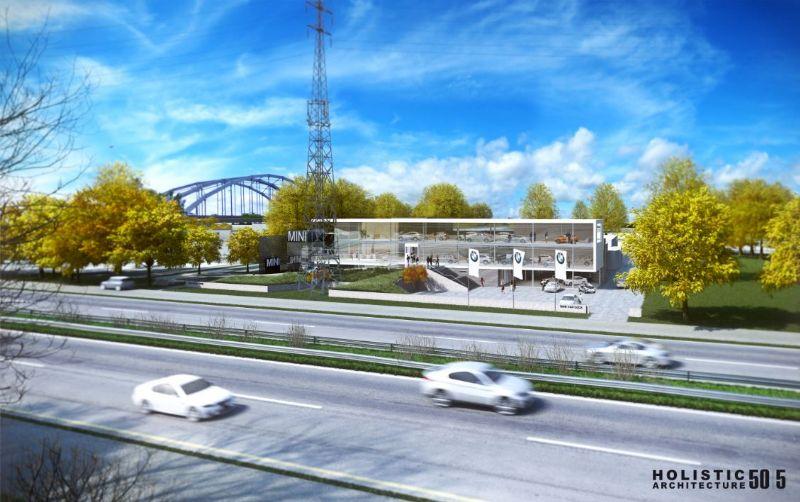 BMW vormt met de uitbreiding een aandachtstrekker op de ring rond Hasselt.