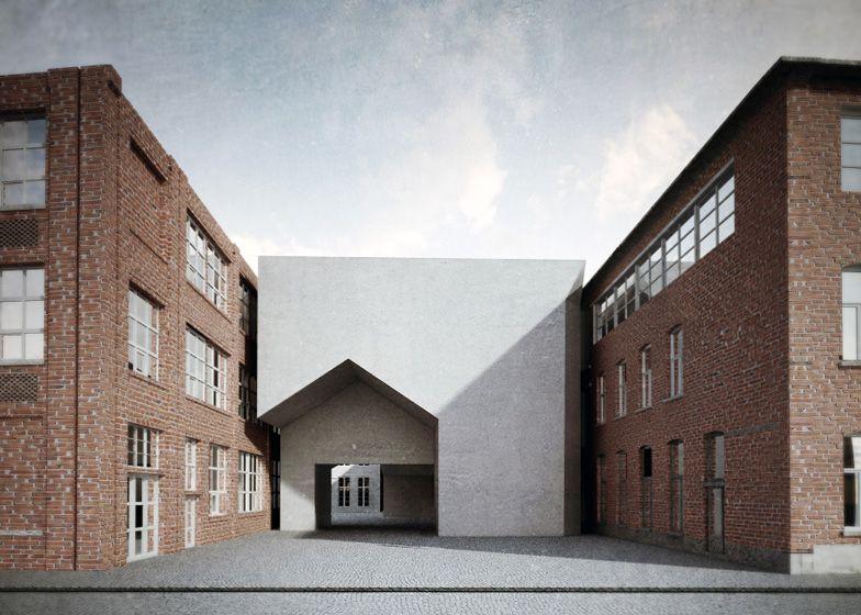 Architectuurschool Kortrijk.