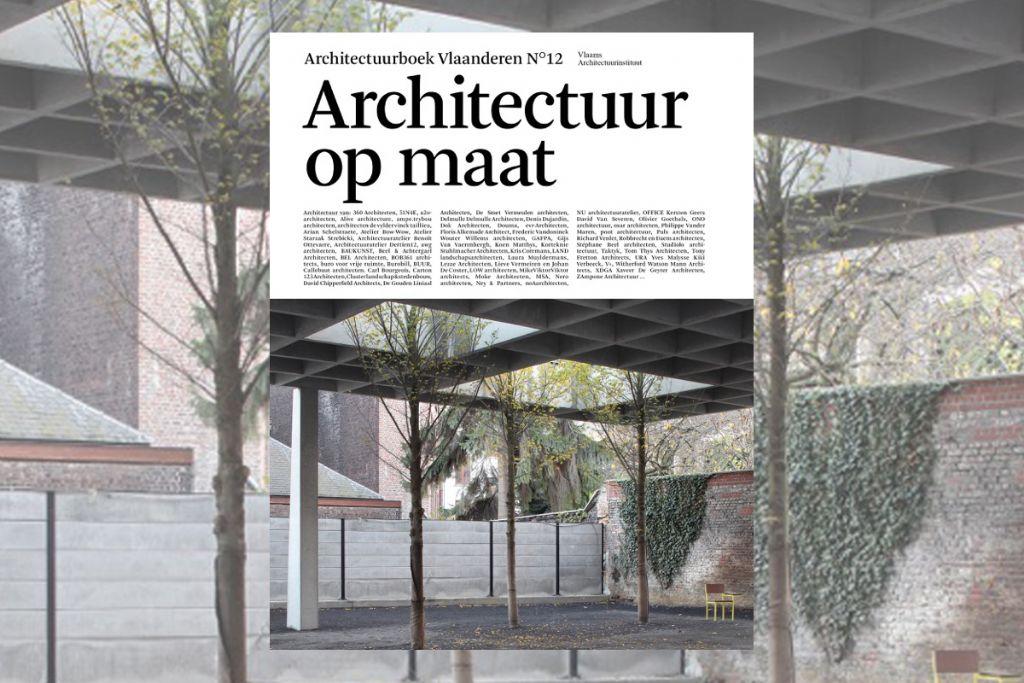 Recensie (Filip Canfyn): Architectuurboek Vlaanderen n°12