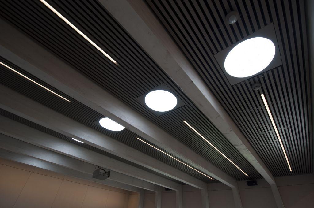 Bezoekerscentrum van Het Zwin geniet van natuurlijk licht