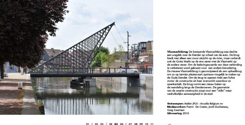 Vlasmarktbrug, Dendermonde.