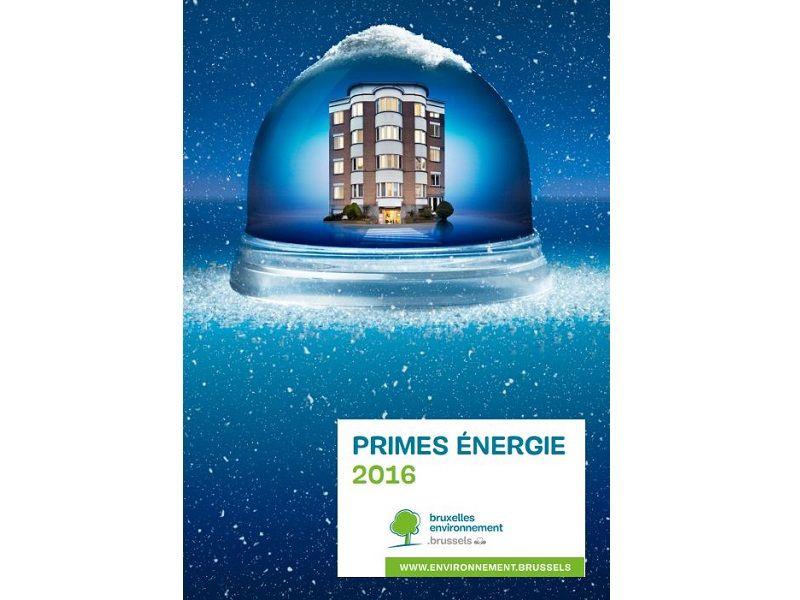 Primes énergie 2016 pour tous les Bruxellois, et pas seulement pour le logement