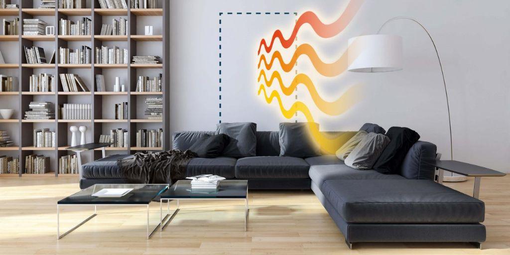 Nieuwe verwarmende gipsplaat CaloriK® Board van Knauf