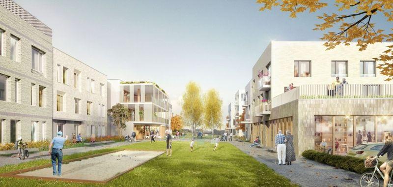 """Het aanbestedingsdossier voor het project """"Woonzorgcentrum te Bellegem"""" werd volledig met BIM gerealiseerd."""