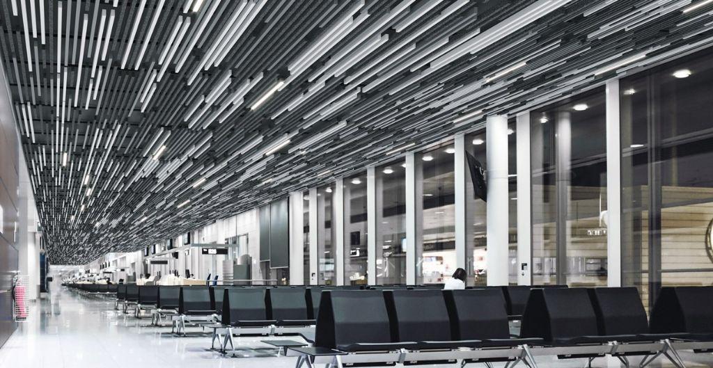 Hunter Douglas lanceert Combi-Line draagsysteem voor multi-panel ontwerp