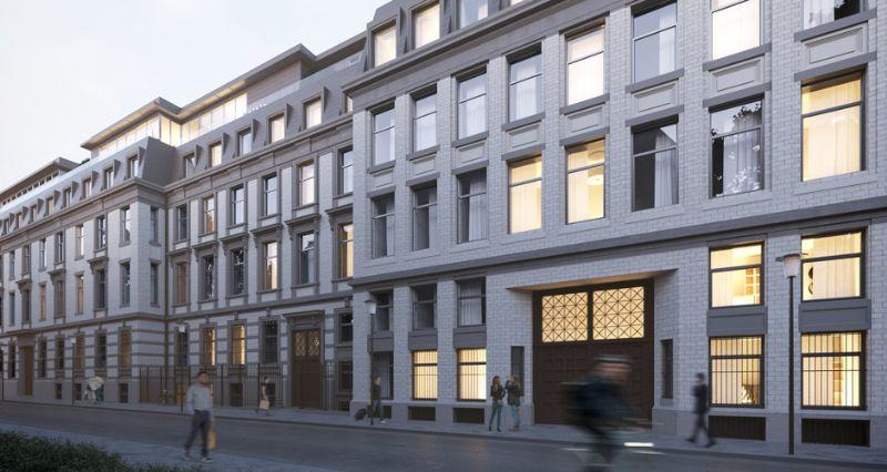 Jaspers-Eyers et A2RC Achitects donnent une nouvelle vie au bâtiment Solvay à Ixelles