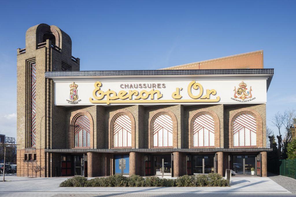Voormalige schoenfabriek Eperon d'Or wint Onroerenderfgoedprijs 2018