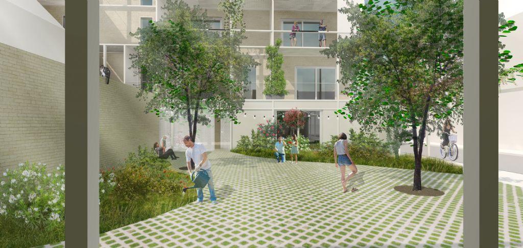 DENC!-STUDIO integreert zon in sociale huisvesting