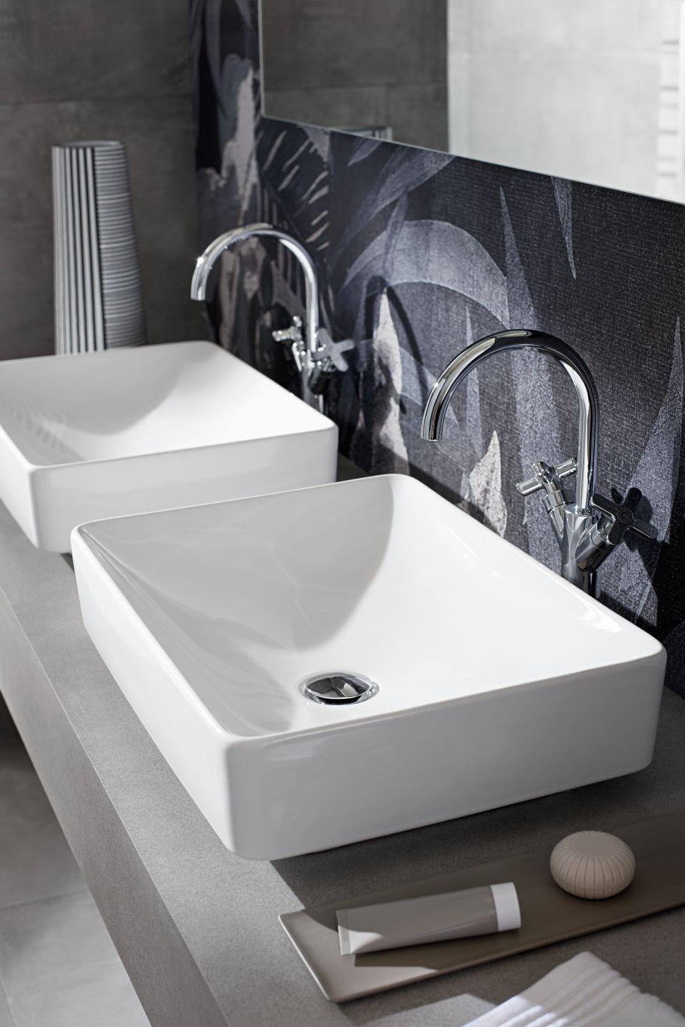 Lavabos VariForm de Keramag : modulaires et polyvalents pour une salle de bains sur mesure