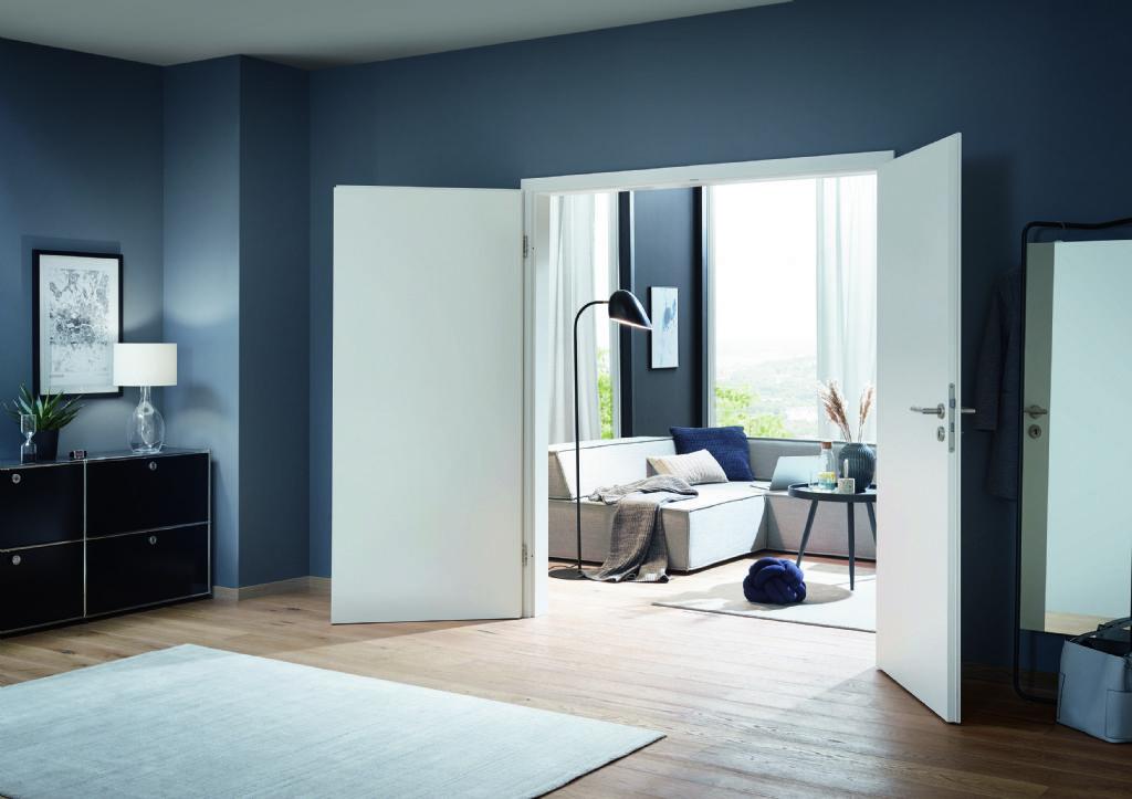 Hörmann croît grâce à sa gamme de portes intérieures de haute qualité