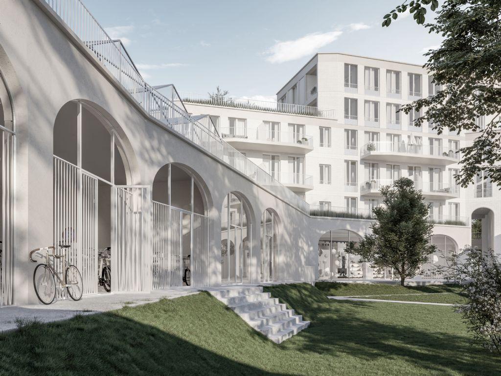 Woonproject Arte Nova van WV Architecten zorgt voor opwaardering Mechelse stationsbuurt