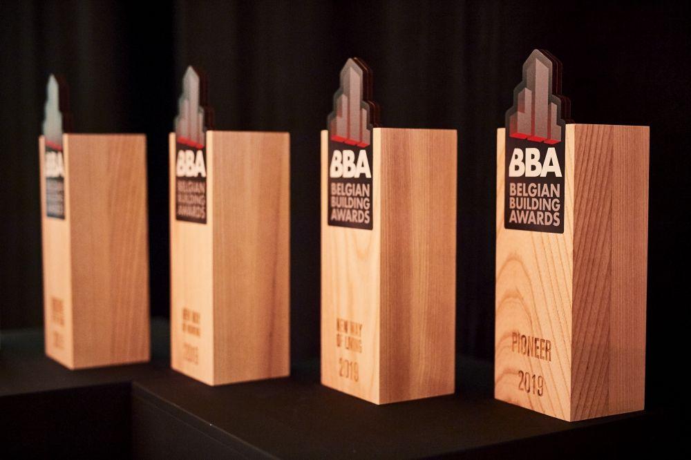 22 kanshebbers stoten door naar shortlist Belgian Building Awards