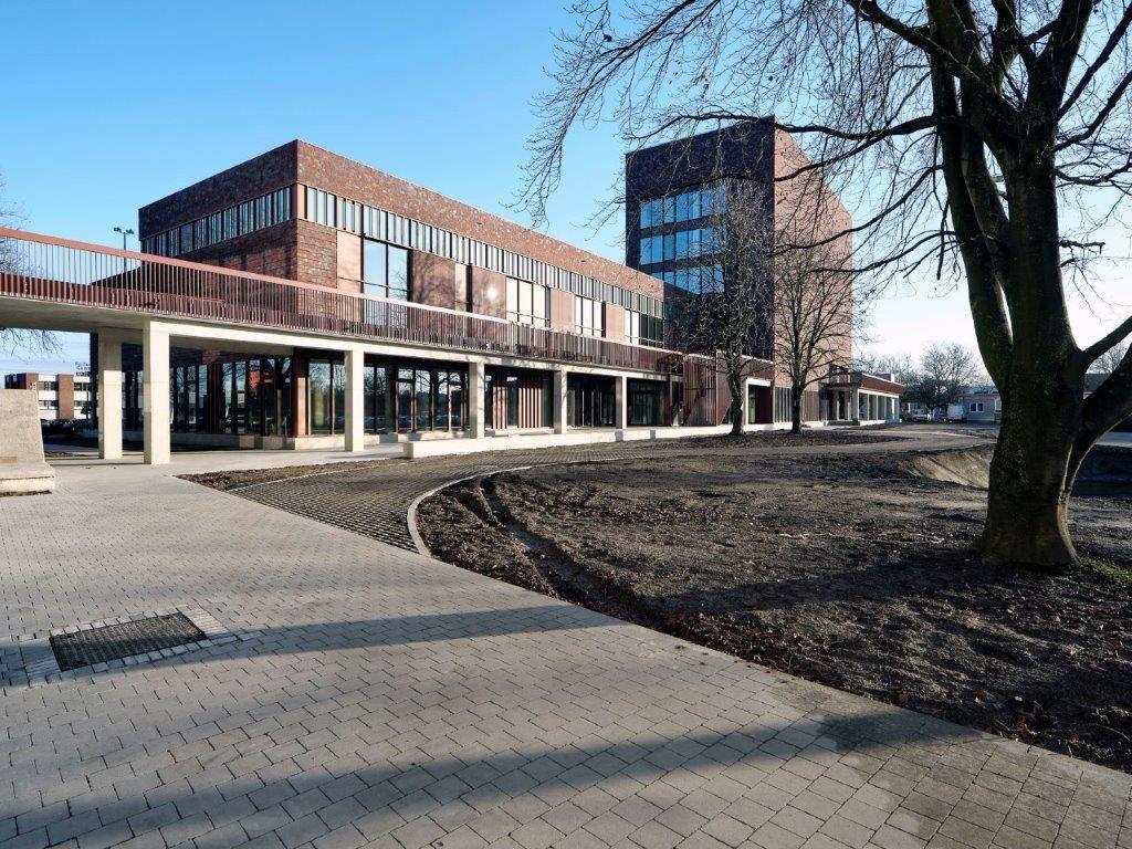 Kersverse kunstencampus siert Hasseltse hogeschool (a2o architecten)
