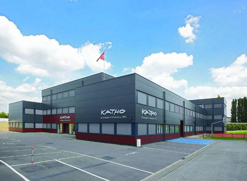 De Fixvent Mono AK werd gebruikt in het KATHO in Kortrijk.