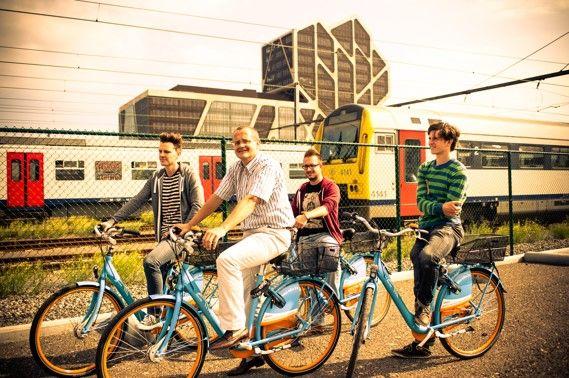 Duurzaam mobiel:  Reynaers en Architectura trakteren op 100 gratis Blue Bike vouchers