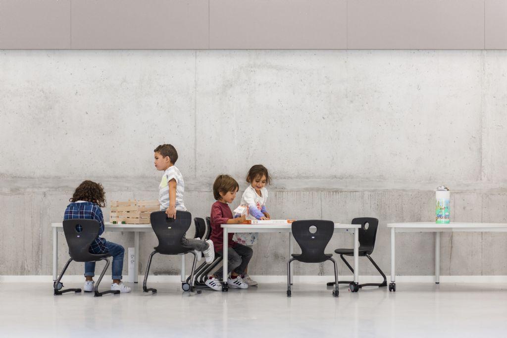 De schoolgaande jeugd kan haar hele carrière, van kinderopvang tot secundair, in dezelfde school blijven.