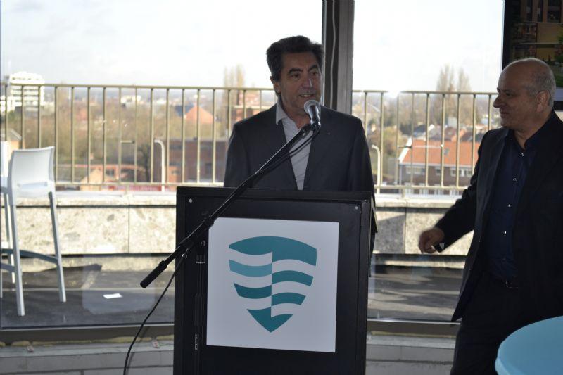 Architect Antonio Citterio tijdens de persvoorstelling