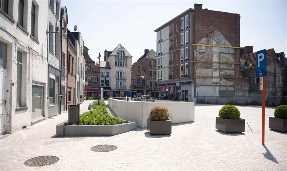 Eén van de projecten van Talboom omvatte de heraanleg van enkele centrumstraten in Mechelen.