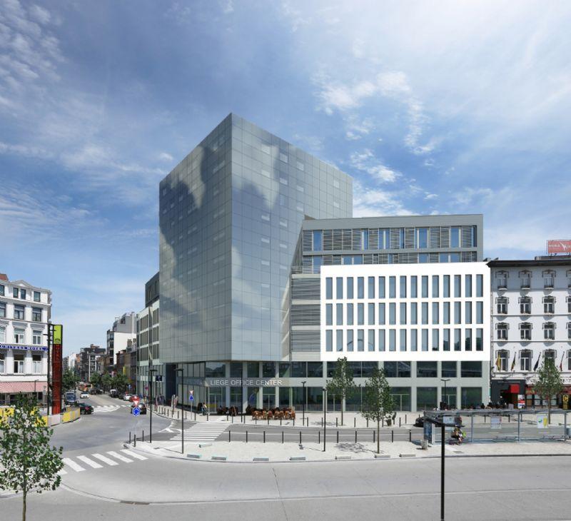 À Liège, le quartier des Guillemins poursuit sa mutation (Nadine Buol / Altiplan)
