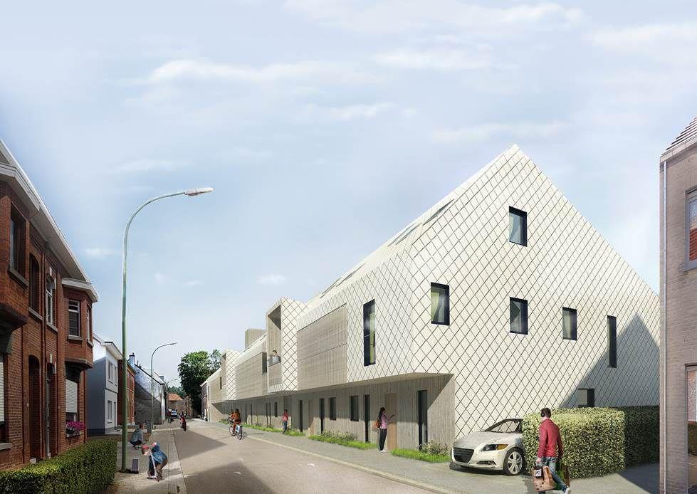 Het winnende ontwerp van het jonge architectenduo Elien Neyens en Artyom Kravtchenko.