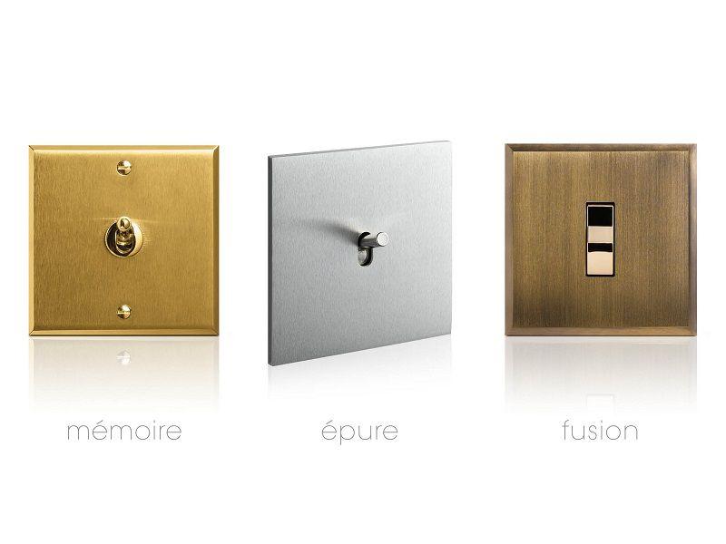 Legrand présente de nouveaux interrupteurs design haut de gamme signés Art d'Arnould