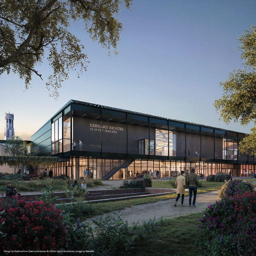 Robbrecht en Daem architecten en Olivier Salens architecten ontwerpen BRUSK, een nieuwe tentoonstellingshal voor Brugge