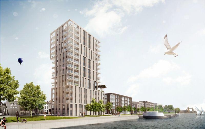 Net niet: Oude Dokken Gent (DDS & Partners Architects en VIVA Architecture)
