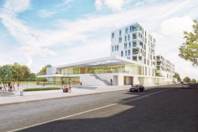 Bouw nieuw stedelijk zwembad Oostende gestart