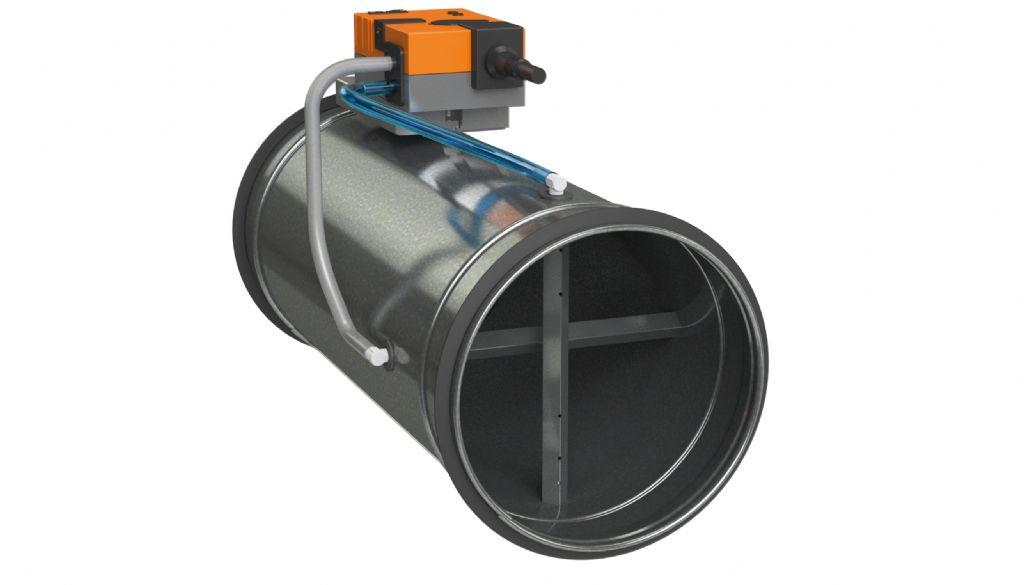 Energiebesparend en zonaal ventileren aan de hand van VAV-kleppen
