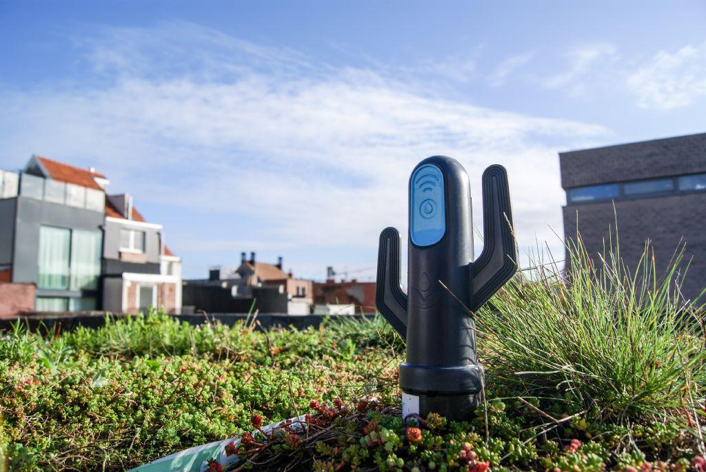 Eerste intelligente groendak van het land ligt in Antwerpen