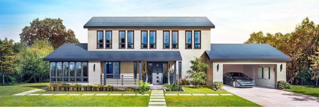 Tesla vindt photovoltaïsch dak opnieuw uit met Solar Roof