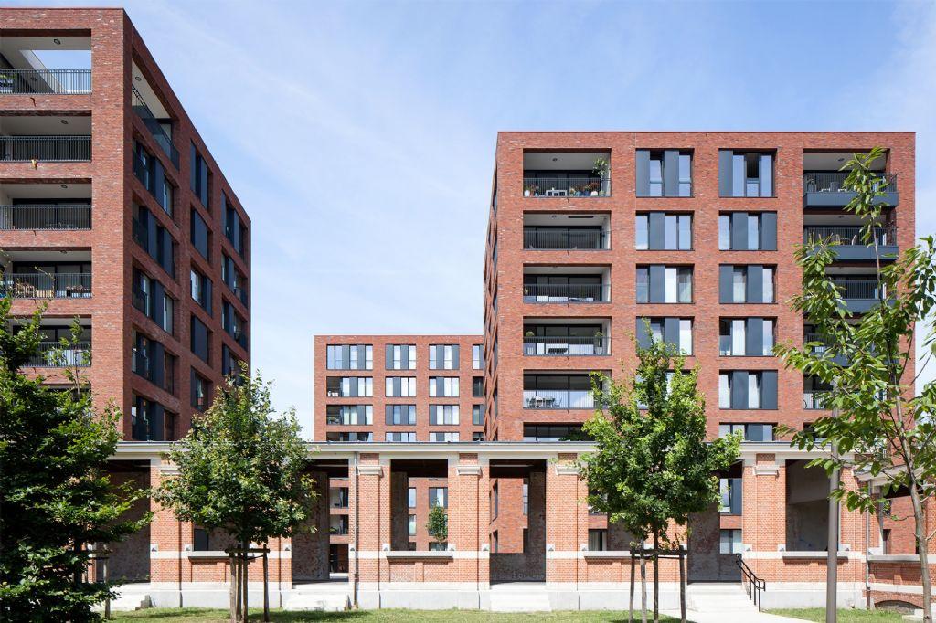 Het Groen Kwartier in Antwerpen.