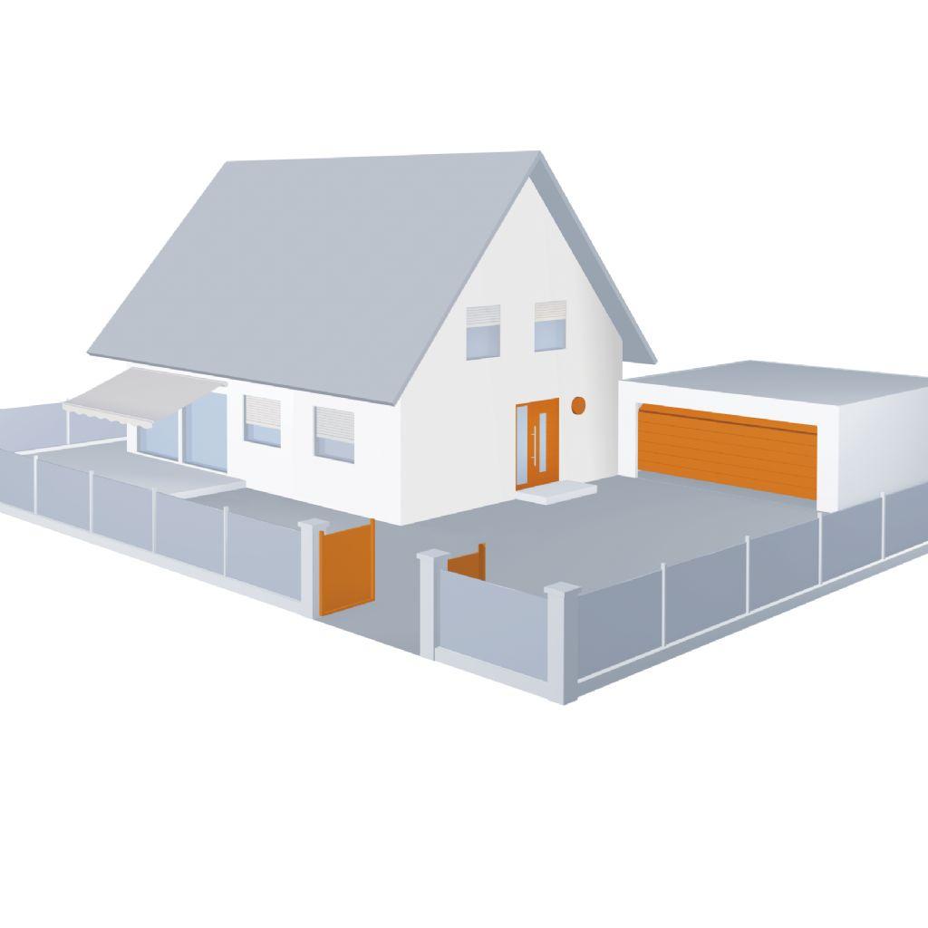 PortaMatic werkt met de door Hörmann ontwikkelde BiSecur-techniek, waarmee ook de inrit- en garagepoort en de verlichting bij de voordeur kunnen worden bediend.