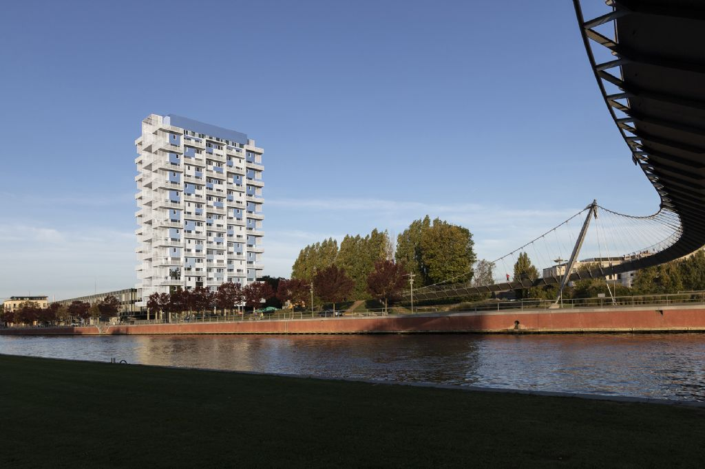 K-Tower, PHILIPPE SAMYN and PARTNERS srl, architects and engineers