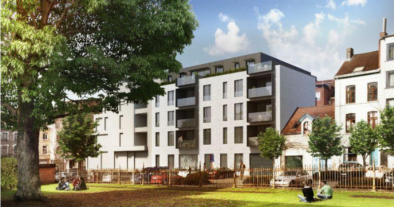 Het complex heeft 500 m² kantoor/handelsruimte, 2165 m² appartementen en 2 ondergrondse parkeerniveaus met 43 plaatsen.