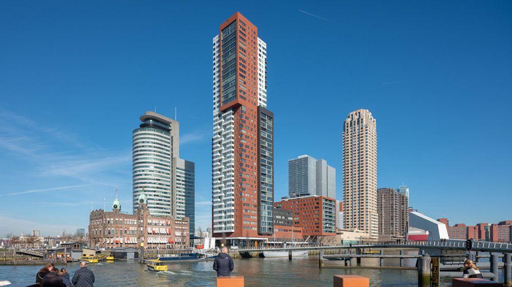 Montevideo-project van Mecanoo in Rotterdam