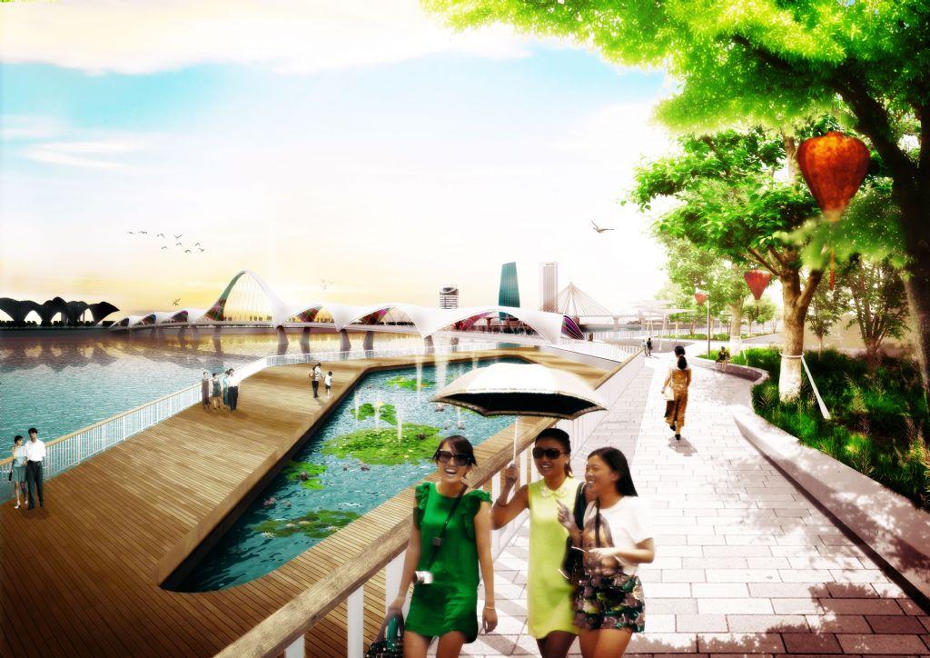 Ontwerpbureau Omgeving wint prestigieuze landschapsarchitectuurwedstrijd in Vietnam