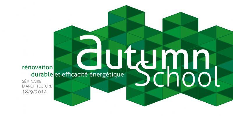 Inscrivez-vous dès maintenant au séminaire Autumn School 2014 !