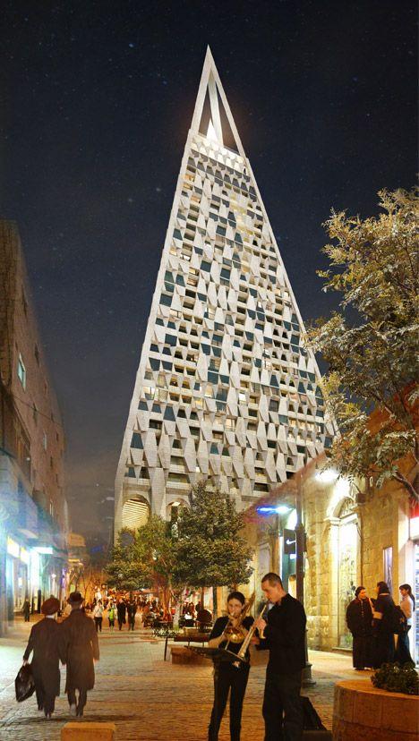 Met zijn vele gerieflijkheden en openbare ruimtes zal het Pyramidegebouw een integraal deel van de stad worden, dat zowel toeristen als inwoners zal dienen.