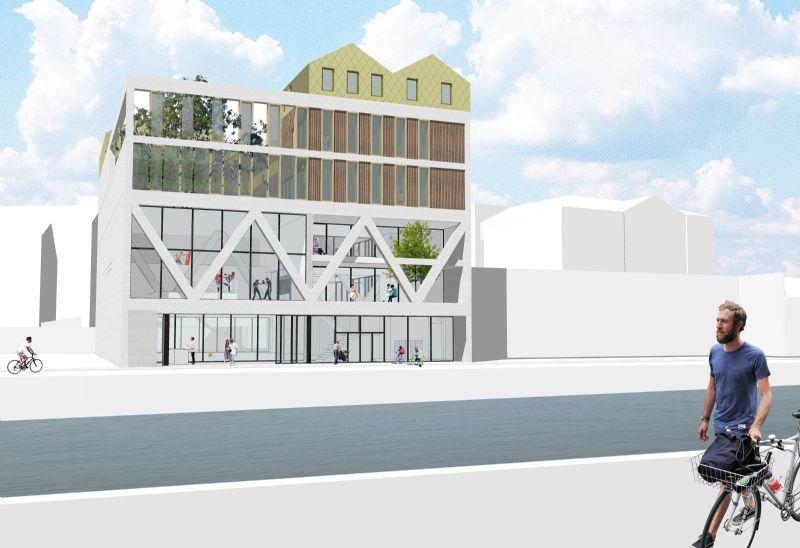 Net niet: wijkcentrum in Molenbeek