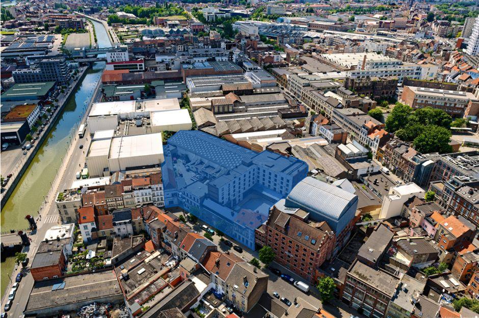 Vijf teams geselecteerd voor ontwerp nieuwe artistieke en creatieve pool 'Manchester' in Molenbeek