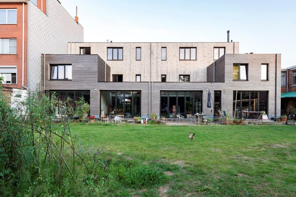 Cohousing in een voormalige rijkswachtkazerne