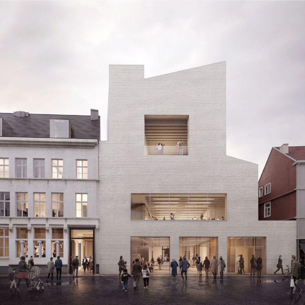 Nieuwe vleugel Design Museum Gent: jury kiest ontwerp TRANS architectuur | stedenbouw, Carmody Groarke en RE-ST