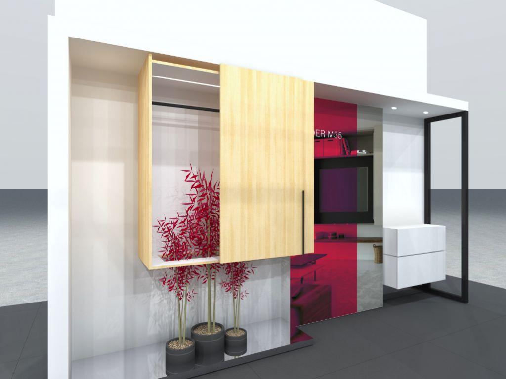 Häfele op Prowood 2018: meer leven per m², Easiness en design trends