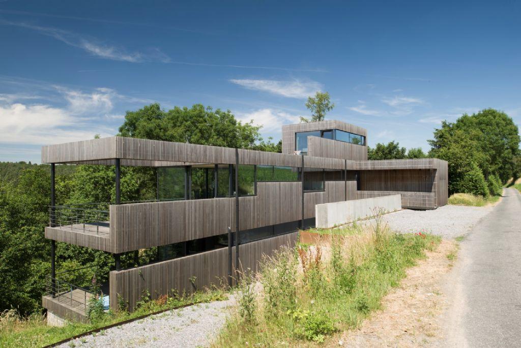 Maison à Assesse (architecte : Crahay & Jamaigne, 2015)