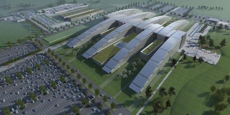 Au démarrage du chantier de l'OTAN, l'entreprise générale hollandaise BAM a décidé de remodéliser l'entièreté du bâtiment, tous lots confondus, afin d'en assurer la parfaite coordination avant mise en œuvre.