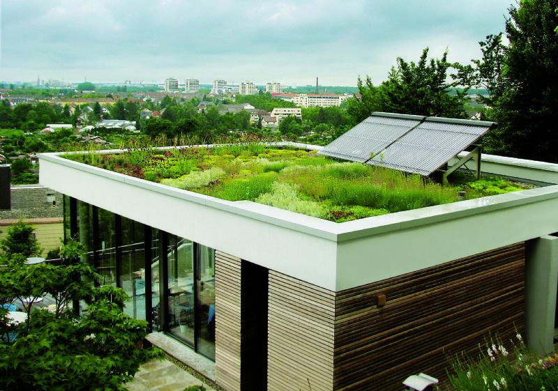 ZinCo introduceert Natureline: dakopbouwsysteem uit hernieuwbare bioplastics