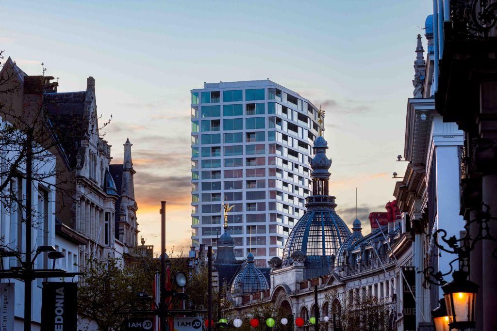 Antwerp Tower : des châssis transformés en cadres de tableau