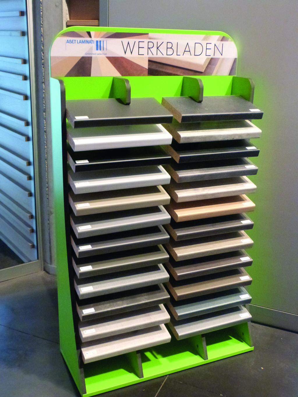 Triplaco stelt nieuwe collectie postform werkbladen voor