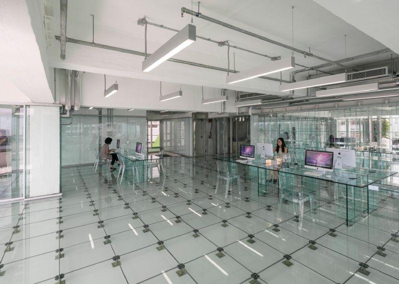 MVRDV creëert transparant interieur voor Hong Kongs kantoorgebouw